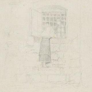 산 제르마노 감옥 창문의 크레센자