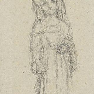 체르바라의 어린 소녀