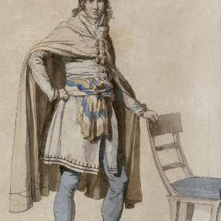 1793년 프랑스 시민 의복을 위한 공민의상 초안