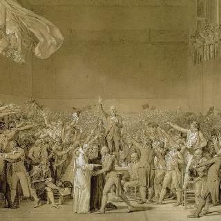 베르사유궁의 줴드폼 선서, 1789년 6월 20일