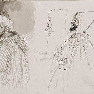 아랍인들에 대한 세 습작; 1832