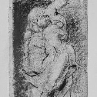 미켈란젤로풍의 성모와 아기 예수