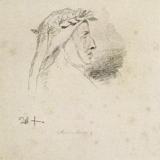 단테 의상을 한 쇼팽의 초상, 1849년 이후