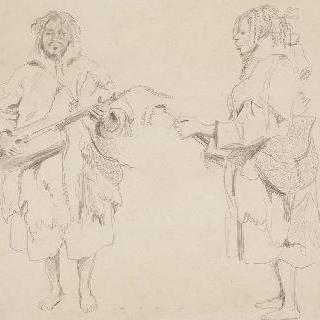무어 음악가에 대한 두 습작 ; 1830년 3월