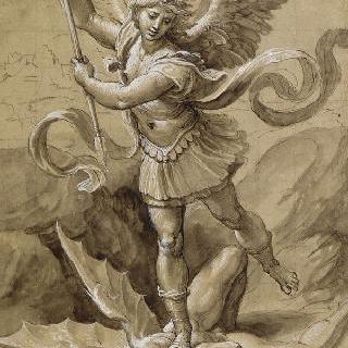 악마와 싸우는 성 미카엘