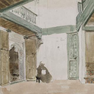 탄저의 안마당 ; 1832