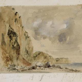 노르망디 지방의 절벽 : 에트르타