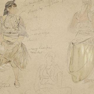 아랍 여자들에 대한 세 스케치 ; 1832