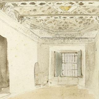 메크네스의 들라크루아실이라고 불리는 아랍식 실내; 1832년 3월-4월