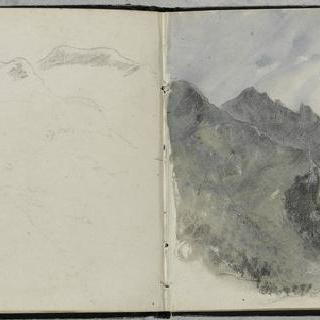 피레네 앨범 : 파노라마 전경의 산