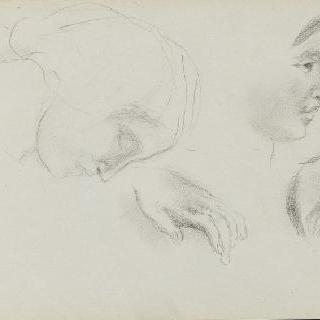 피레네 앨범 : 손과 여자 얼굴에 대한 세 개의 습작