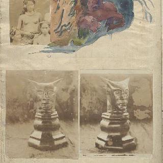 노아 노아 앨범 : 타히티 가족 ; 유령과 우상