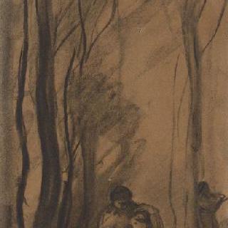숲 속의 님프들, 또는 단장하는 님프들