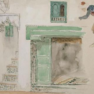 무어식 집의 문과 창구들 ;1832