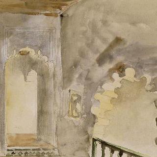 무어식 내부의 작은 창 : 1832