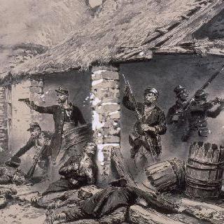 외인부대에 의한 카메론 방어, 1863년 4월 30일