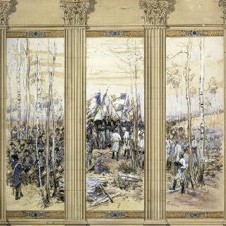 알텐키르센의 마르소 장례식, 1796년 9월 21일