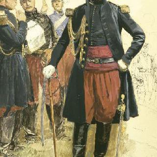 프랑수아 마르슬랭 세르탱 드 캉로베르, 사단장 (1809-1895)