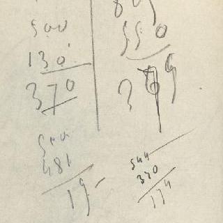 화첩 : 숫자로 된 주석