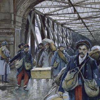 포로들의 귀환, 켈 다리, 1918년 11월