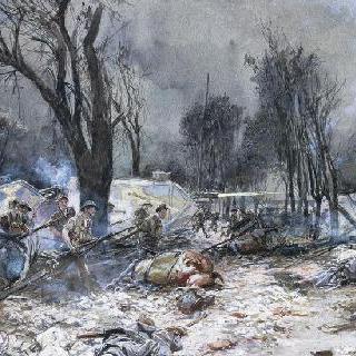 미국 군대의 쌩 피에르 에글 공격, 1918년 7월 18일