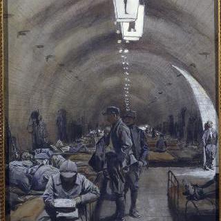 베르덩 성채 안, 1916년 6월 6일