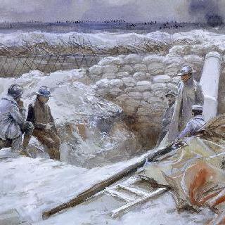1915년 10월 8일 수앵의 220 박격포