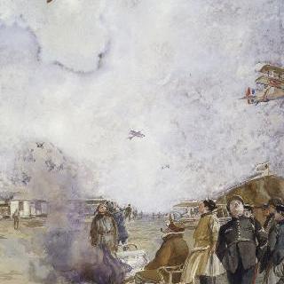 비행장 (에슨) 1918년 2월