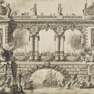 1763년 평화 축제의 장식