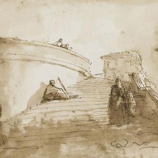 삼위일체 산의 나선형 계단