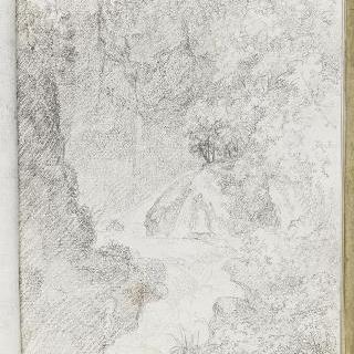 앨범 : 티볼리의 포세이돈 동굴 부근의 풍경