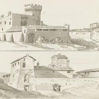 아쿠아 아케토사 부근의 건물들