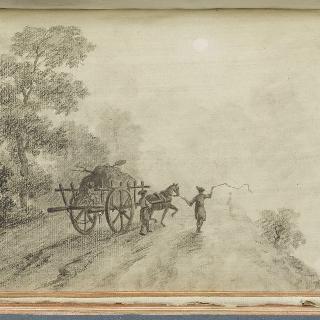 앨범 : 짐수레가 있는 1775년경의 풍경