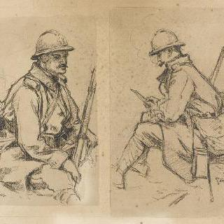 1916년 마른의 병사들