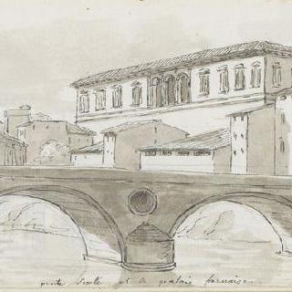 앨범 : 시스토 다리와 파르네즈 왕궁의 전경