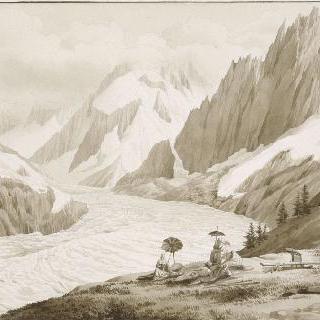빙해의 전경