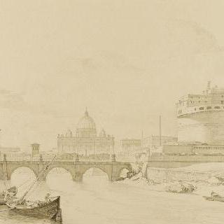 1846년 생앙주 성의 전경