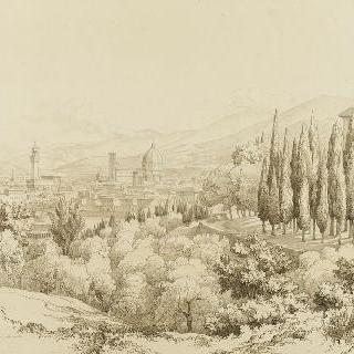 산 미니아토에서 바라본 피렌체의 전경