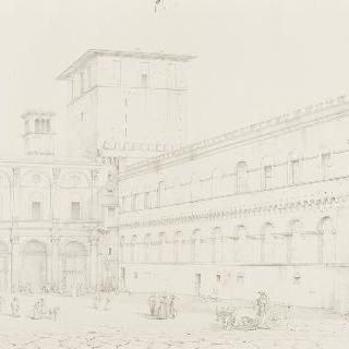 로마 생 마크 광장의 전경