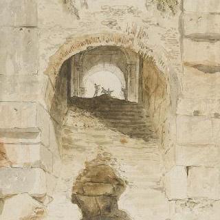 1764년경 콜로세움의 넓은 출입문