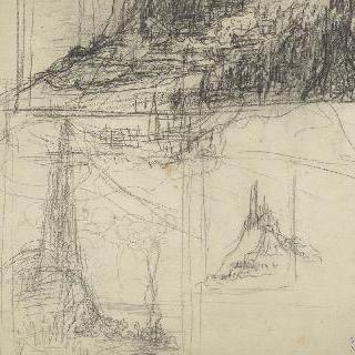 팡세 사원, 베토벤에게 헌정 : 작은 산 스케치