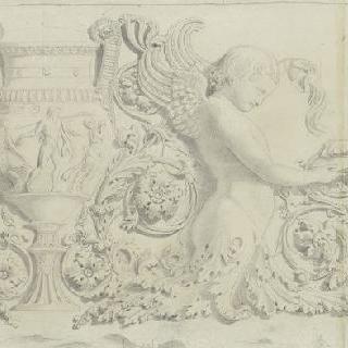 고대 프리즈의 도면 (로마 프라잔 포럼)