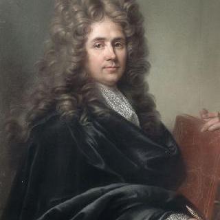 로베르 드 코트의 초상, 건축가, 데생 화가