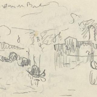 화첩 : 수사본 주석이 있는 베니스의 풍경