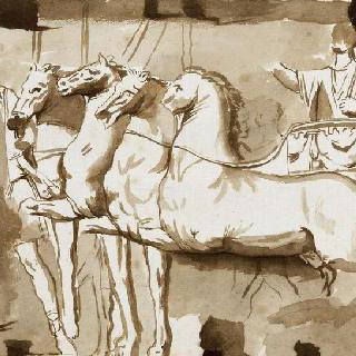 로마 티투스의 개선문의 저부조풍의 티투스의 승리