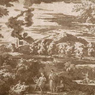 오르페우스와 에우리디케가 있는 풍경