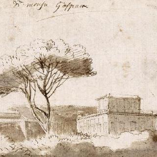 로마 근처의 빌라 정경
