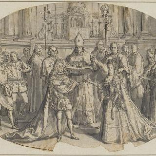 필립 당주와 스페인 공녀의 결혼