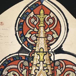 드뢰 왕실 예배당의 스테인드글라스 계획안