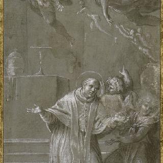 기도로 연옥으로부터 영혼들을 빠져나오게 하는 성 그레고리 교황